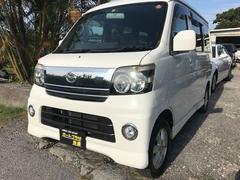 沖縄の中古車 ダイハツ アトレーワゴン 車両価格 44万円 リ済込 平成18年 7.4万K ホワイト