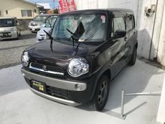 沖縄の中古車 スズキ ハスラー 車両価格 92万円 リ済込 平成27年 0.3万K ブラウン