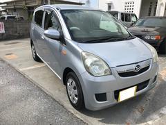 沖縄の中古車 ダイハツ ミラ 車両価格 19万円 リ済込 平成20年 9.8万K シルバー