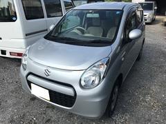沖縄の中古車 スズキ アルト 車両価格 41万円 リ済込 平成25年 13.8万K シルバー