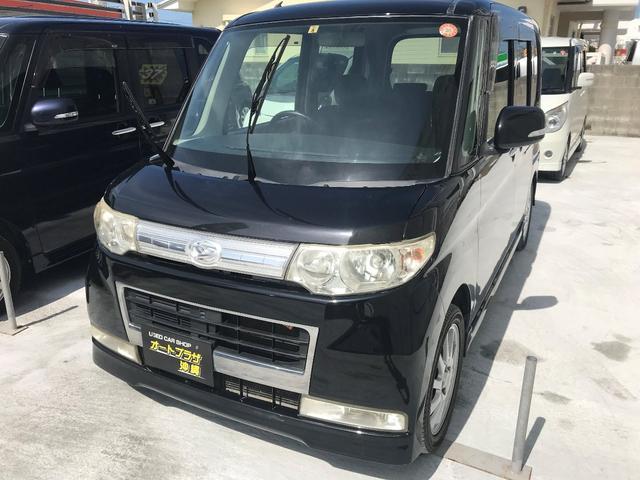 沖縄の中古車 ダイハツ タント 車両価格 35万円 リ未 2008(平成20)年 11.0万km ブラックM