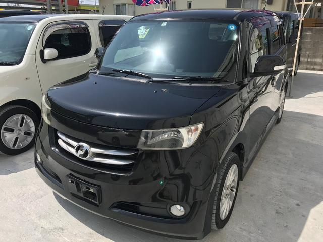 沖縄の中古車 トヨタ bB 車両価格 35万円 リ済込 平成20年 11.4万km ブラックM