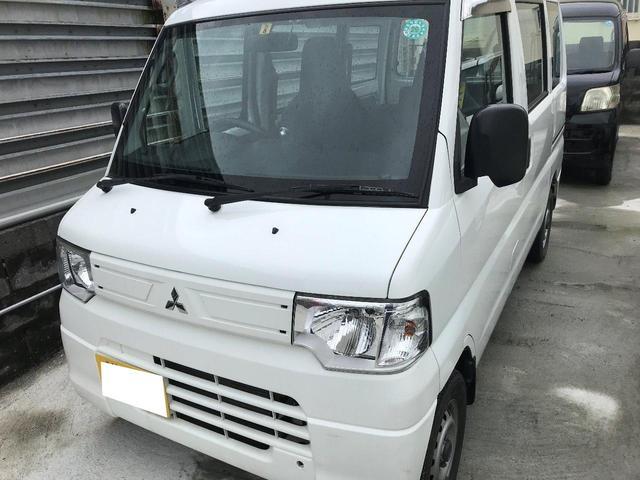 沖縄の中古車 三菱 ミニキャブバン 車両価格 35万円 リ済別 2012(平成24)年 13.0万km ホワイト