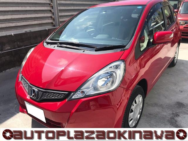 沖縄の中古車 ホンダ フィット 車両価格 35万円 リ済別 2011(平成23)年 1.9万km レッド