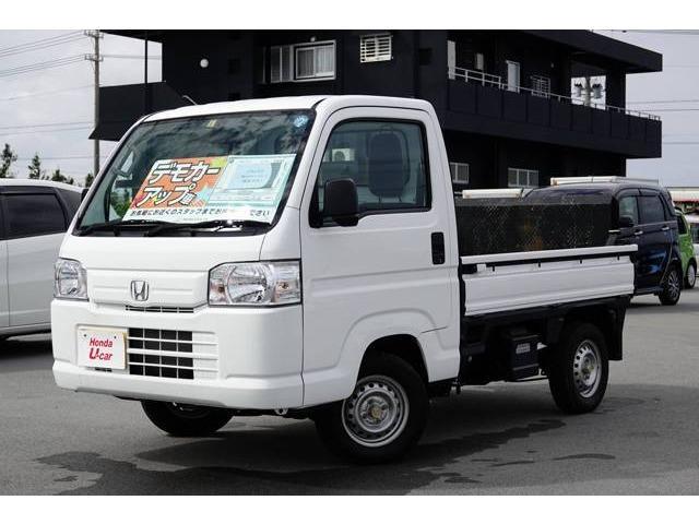 沖縄の中古車 ホンダ アクティトラック 車両価格 79.8万円 リ済別 2017(平成29)年 0.3万km ホワイト