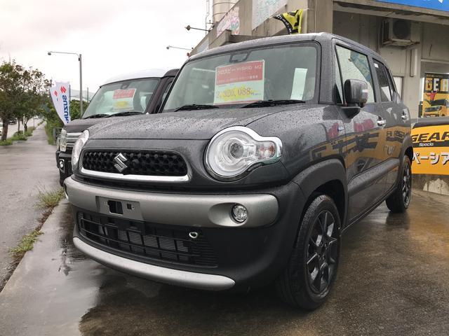沖縄の中古車 スズキ クロスビー 車両価格 232万円 リ済別 新車  グレーM