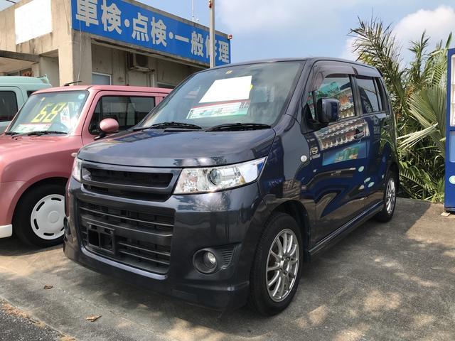沖縄県の中古車ならワゴンRスティングレー X ナビ TV DVD