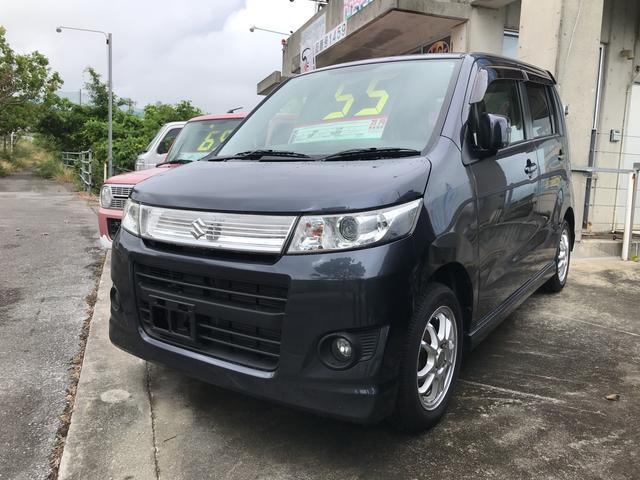沖縄県うるま市の中古車ならワゴンRスティングレー リミテッドII ナビ ワンセグTV