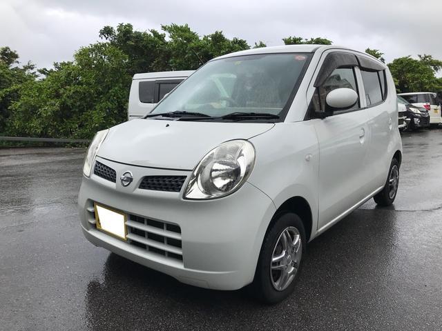 沖縄の中古車 日産 モコ 車両価格 19万円 リ済込 2010(平成22)年 6.9万km スノーパールホワイト