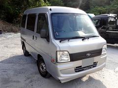 沖縄の中古車 スバル サンバーバン 車両価格 21万円 リ済込 平成18年 8.9万K シルバー