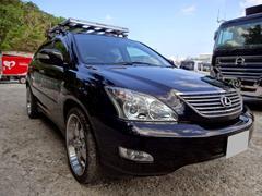 沖縄の中古車 トヨタ ハリアー 車両価格 79万円 リ済込 平成19年 8.6万K ブラックM