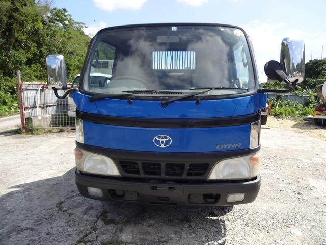沖縄の中古車 トヨタ ダイナトラック 車両価格 212万円 リ済込 平成19年 11.1万km ブルー