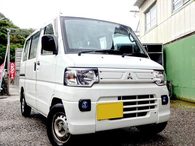 沖縄の中古車 三菱 ミニキャブバン 車両価格 20万円 リ済込 2013(平成25)年 12.4万km ホワイト