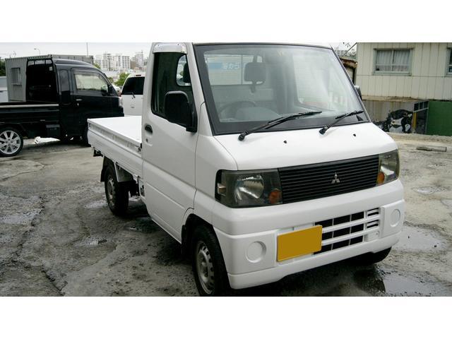 沖縄の中古車 三菱 ミニキャブトラック 車両価格 18万円 リ済込 2007(平成19)年 10.6万km ホワイト