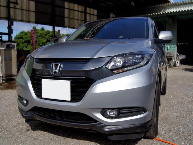 沖縄の中古車 ホンダ ヴェゼル 車両価格 135万円 リ済込 2015(平成27)年 5.4万km シルバーM