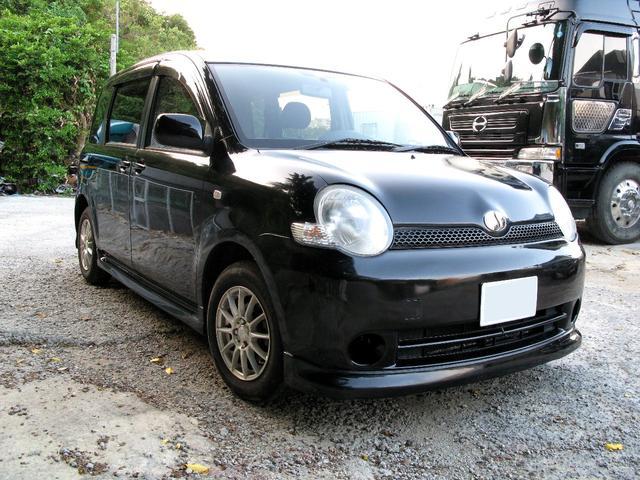 沖縄県の中古車ならシエンタ X 黒 ナビ HID アルミホイール