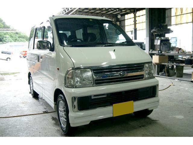 沖縄の中古車 ダイハツ アトレーワゴン 車両価格 25万円 リ済込 2002(平成14)年 2.5万km ホワイト