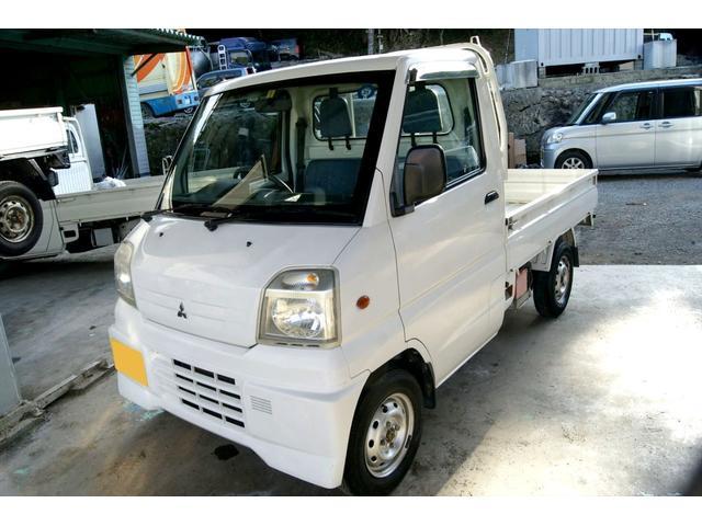 沖縄の中古車 三菱 ミニキャブトラック 車両価格 24万円 リ済込 1999(平成11)年 6.8万km ホワイト