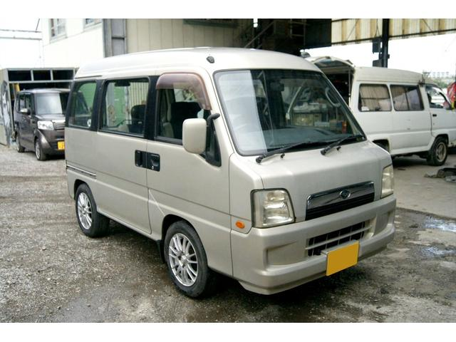 沖縄の中古車 スバル ディアスワゴン 車両価格 16万円 リ済込 2004(平成16)年 8.4万km ゴールド
