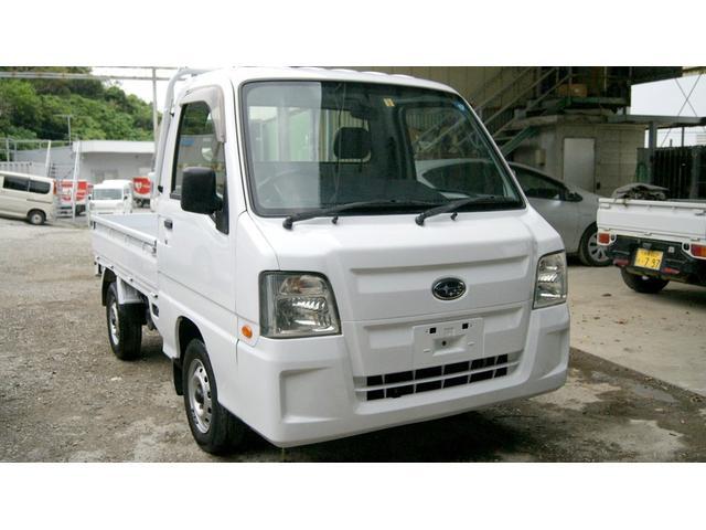 沖縄県の中古車ならサンバートラック MT AC PS オールペン