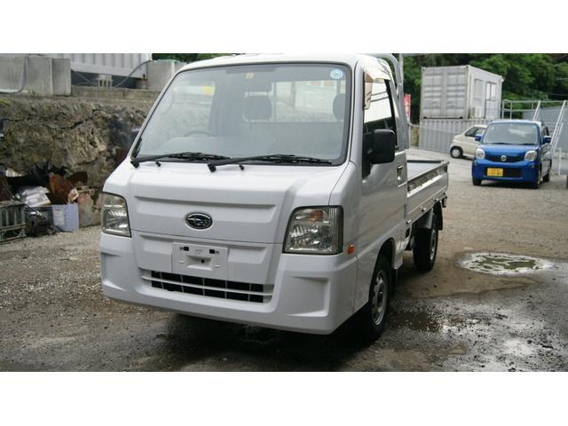 沖縄の中古車 スバル サンバートラック 車両価格 36万円 リ済込 2010(平成22)年 15.0万km ホワイト