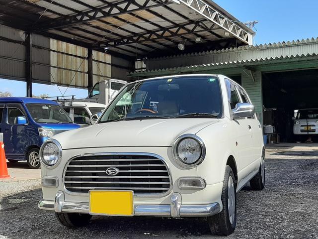 沖縄の中古車 ダイハツ ミラジーノ 車両価格 19万円 リ済込 2001(平成13)年 11.5万km パールホワイト