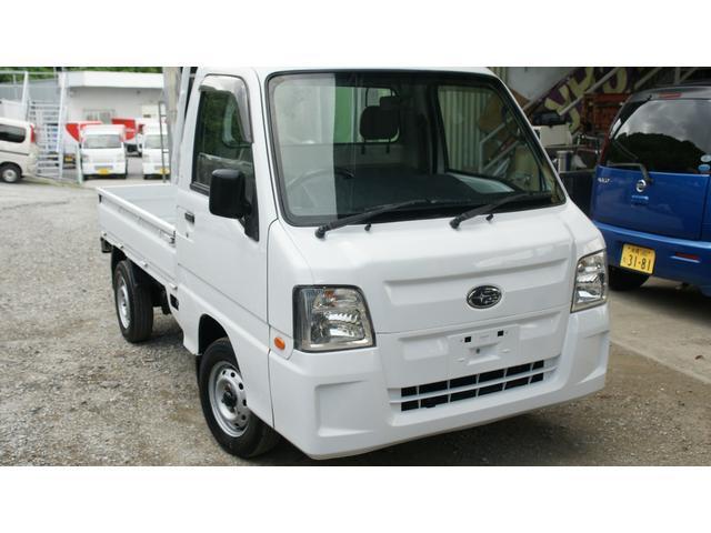 沖縄の中古車 スバル サンバートラック 車両価格 37万円 リ済込 2010(平成22)年 14.9万km ホワイト