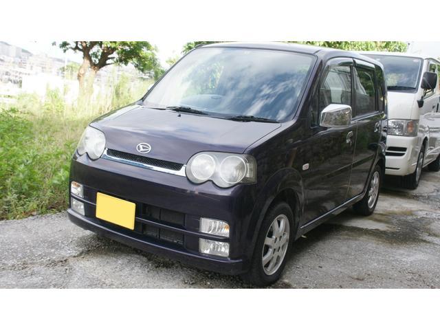 沖縄の中古車 ダイハツ ムーヴ 車両価格 11万円 リ済込 2003(平成15)年 11.9万km ダークパープル