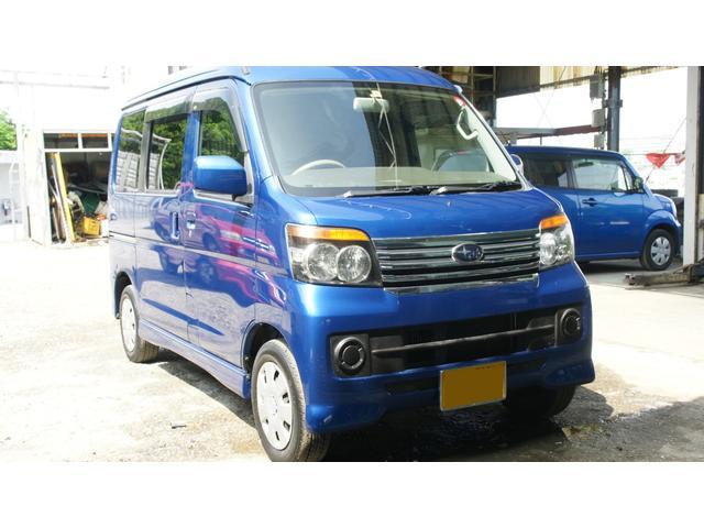 沖縄の中古車 スバル ディアスワゴン 車両価格 42万円 リ済込 2010(平成22)年 5.3万km ブルーM