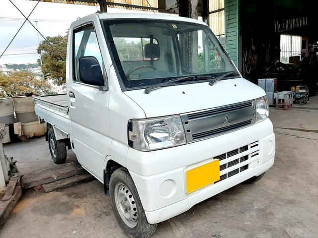 沖縄の中古車 三菱 ミニキャブトラック 車両価格 26万円 リ済込 2005(平成17)年 7.2万km ホワイト