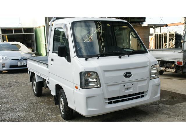 沖縄県の中古車ならサンバートラック  4WD エアコン パワステ MT