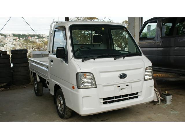 沖縄の中古車 スバル サンバートラック 車両価格 39万円 リ済込 2011(平成23)年 12.0万km ホワイト