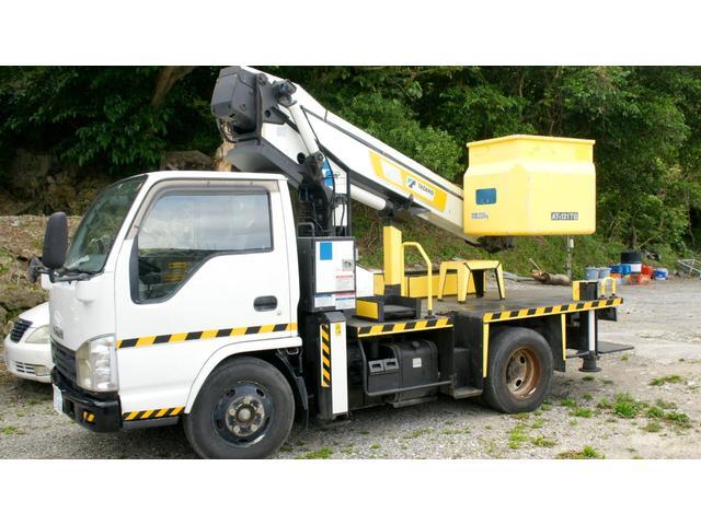 沖縄の中古車 いすゞ エルフトラック 車両価格 145万円 リ済込 2007(平成19)年 2.3万km ホワイト