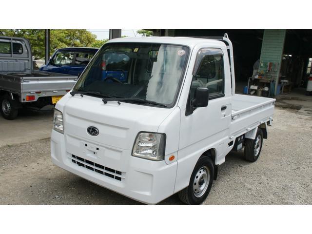 沖縄県の中古車ならサンバートラック  AT AC PS オールペン