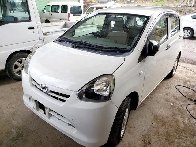 沖縄の中古車 ダイハツ ミライース 車両価格 24万円 リ済込 2012(平成24)年 3.5万km ホワイト