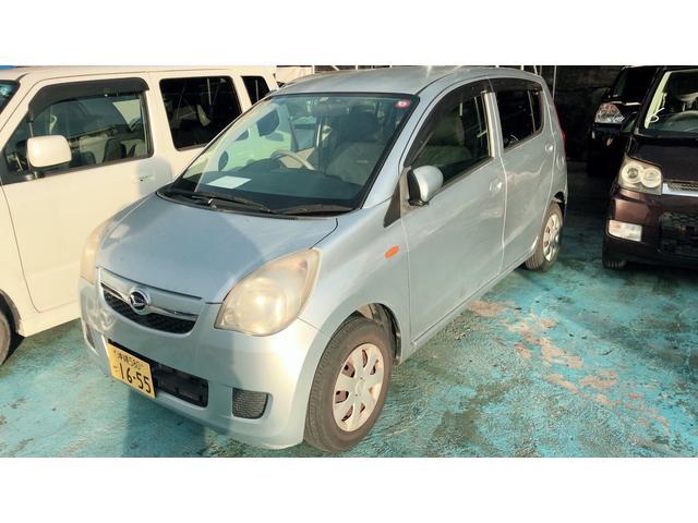 沖縄の中古車 ダイハツ ミラ 車両価格 24万円 リ済込 2009(平成21)年 11.0万km シルバー