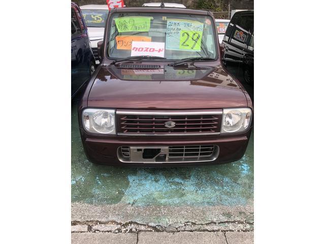 沖縄の中古車 スズキ アルトラパン 車両価格 24万円 リ済別 2008(平成20)年 12.0万km ブラウンM