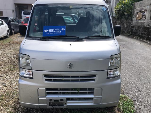 沖縄の中古車 スズキ エブリイ 車両価格 34万円 リ済込 2008(平成20)年 10.0万km シルバー
