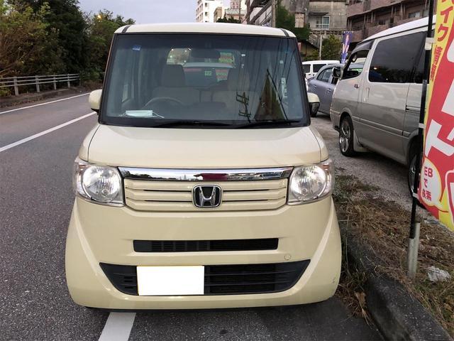 沖縄県宜野湾市の中古車ならN-BOX G・ターボLパッケージ
