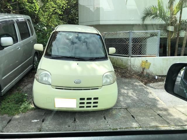 沖縄の中古車 ダイハツ エッセ 車両価格 13万円 リ済込 2006(平成18)年 14.2万km イエロー