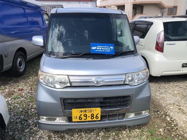 沖縄の中古車 ダイハツ タント 車両価格 25万円 リ済込 2009(平成21)年 21.0万km ガンM