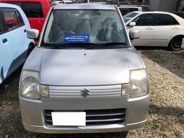 沖縄の中古車 スズキ アルト 車両価格 13万円 リ済込 2007(平成19)年 10.0万km シルバー