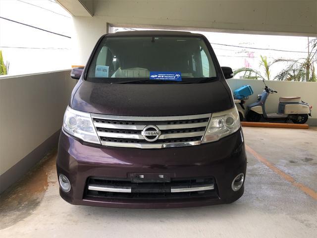 沖縄の中古車 日産 セレナ 車両価格 49万円 リ済込 2009(平成21)年 8.0万km ブラウン