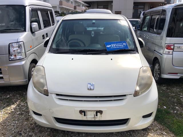 沖縄の中古車 トヨタ パッソ 車両価格 19万円 リ済込 2007(平成19)年 10.0万km パール