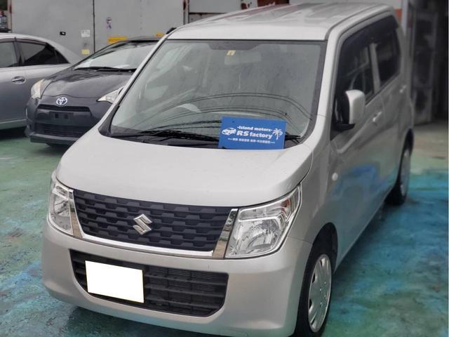 沖縄の中古車 スズキ ワゴンR 車両価格 26万円 リ済込 2015(平成27)年 12.5万km シルバー