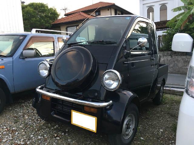 沖縄の中古車 ダイハツ ミゼットII 車両価格 50万円 リ済込 平成10年 9.1万km オフブラックマイカ