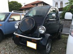 沖縄の中古車 ダイハツ ミゼットII 車両価格 50万円 リ済込 平成10年 9.1万K オフブラックマイカ