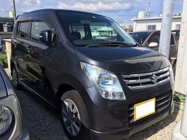 沖縄の中古車 スズキ ワゴンR 車両価格 58万円 リ済込 平成22年 8.6万km ルナグレーパールメタリック