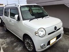 沖縄の中古車 ダイハツ ミラココア 車両価格 52万円 リ済込 平成21年 10.5万K パールホワイトIII