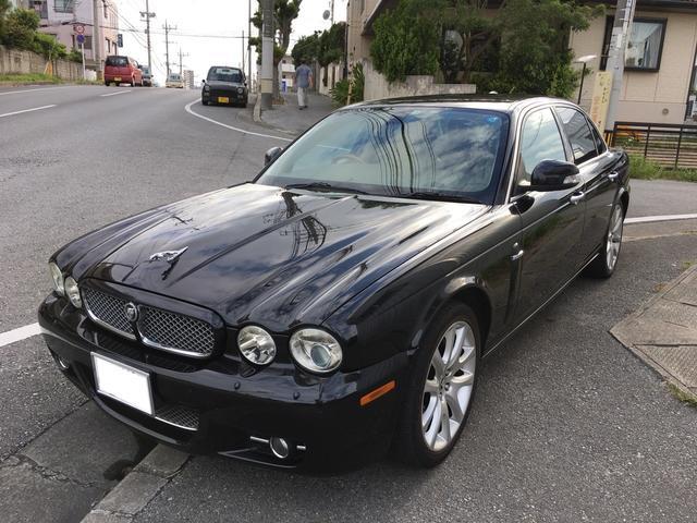 沖縄の中古車 ジャガー ジャガー 車両価格 160万円 リ済込 2007(平成19)年 10.5万km ブラックM